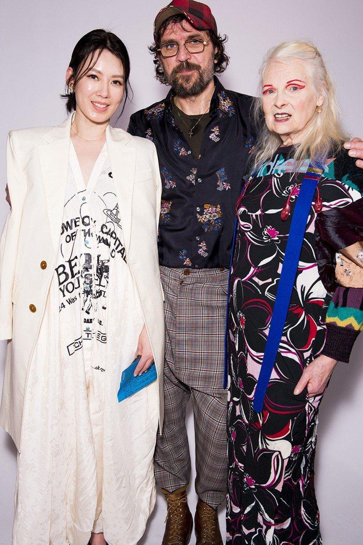 Melody與Andreas Kronthaler、Vivienne Westw...