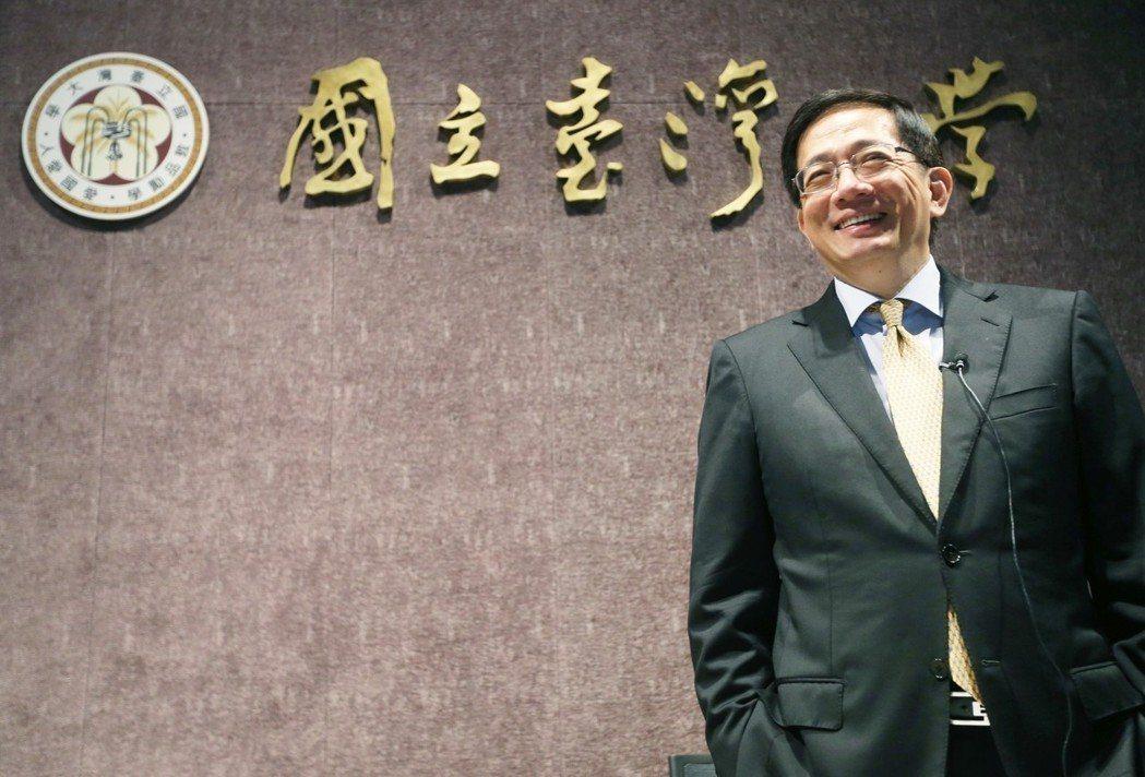台大準校長管中閔至今遲未上任。本報資料照片