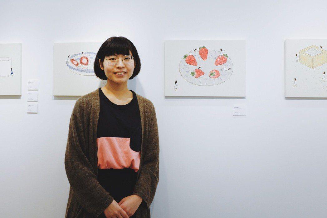日本藝術家鬼頭祈(Inori Kito)。記者沈佩臻/攝影