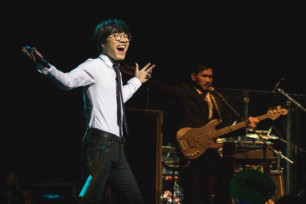 盧廣仲日前結束新加坡巡演。圖/添翼提供