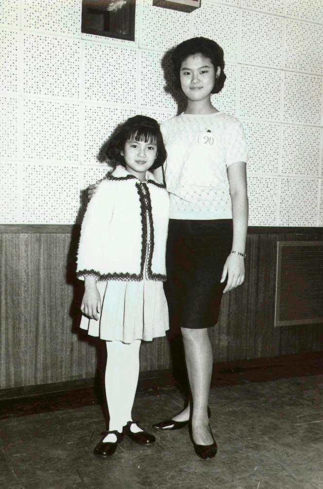 謝玲玲(左)得過金馬獎最佳童星。圖/聯合報系資料照