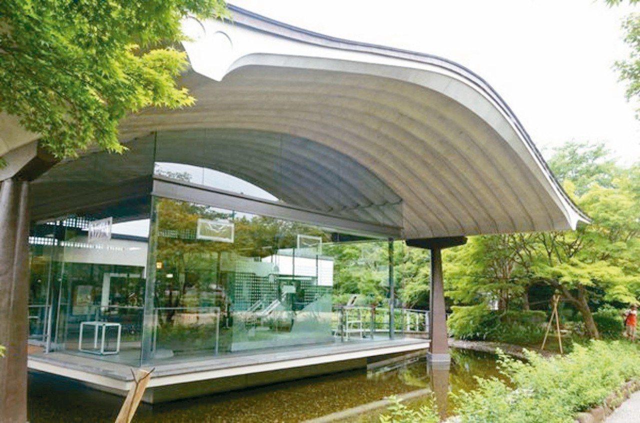 源氏物語博物館。 圖/有行旅提供