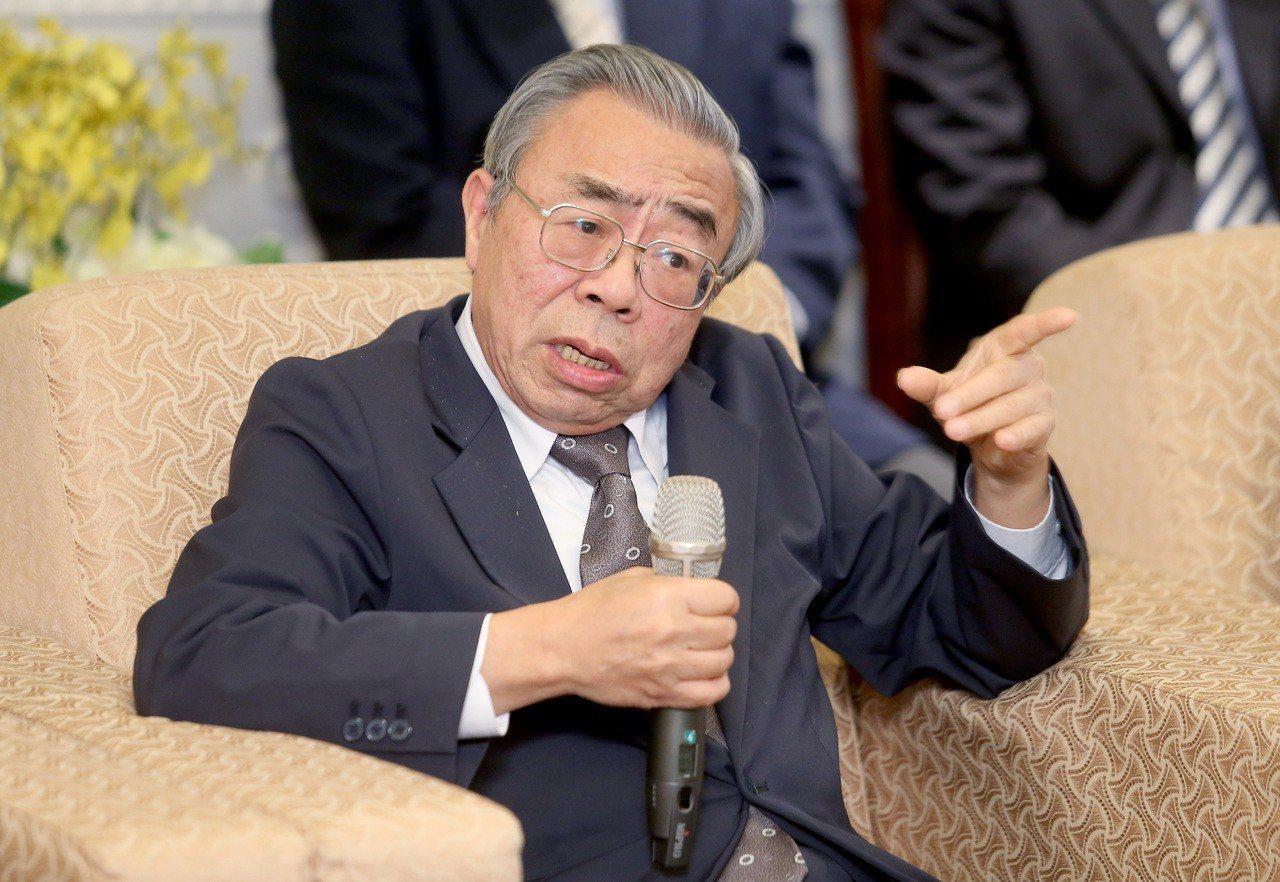 台塑集團總裁王文淵。 聯合報系記者余承翰/攝影