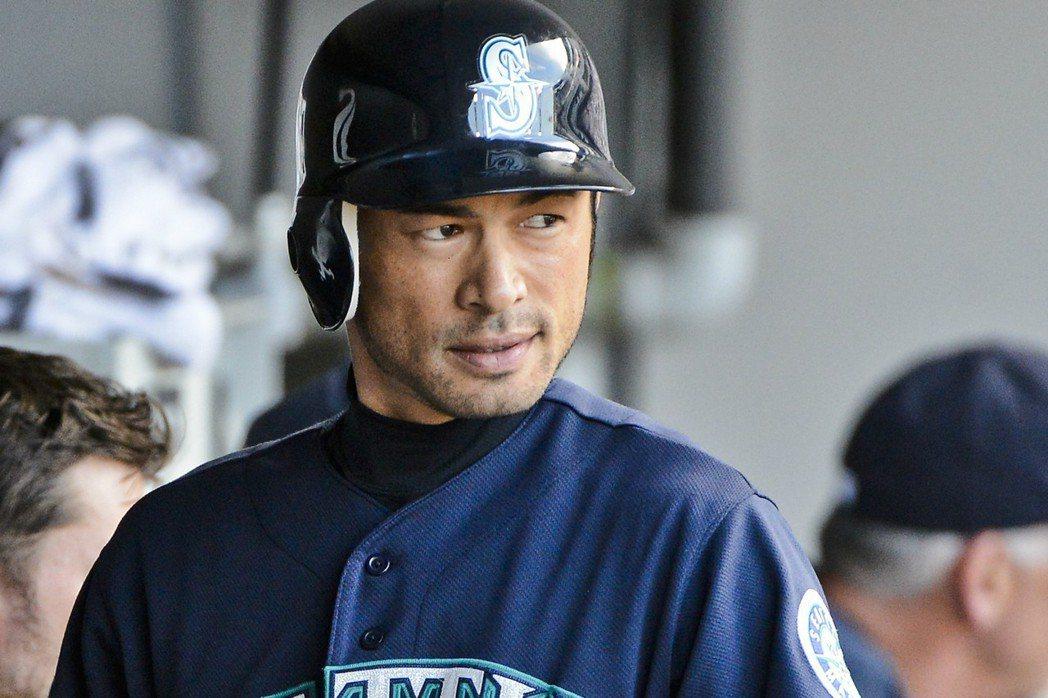 水手隊將與鈴木一朗這位隊史傳奇球星簽下一年合約。 歐新社