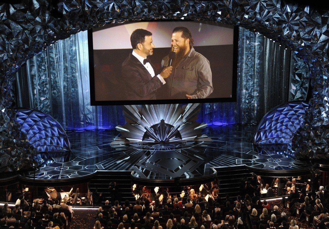 第90屆奧斯卡頒獎典禮轉播收視率創史上新低。 圖/美聯社