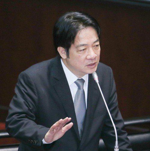 行政院長賴清德出席立法院總質詢。 聯合報記者陳柏亨/攝影
