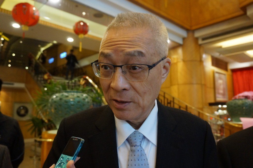 國民黨主席吳敦義。聯合報系資料照/記者洪敬浤攝影