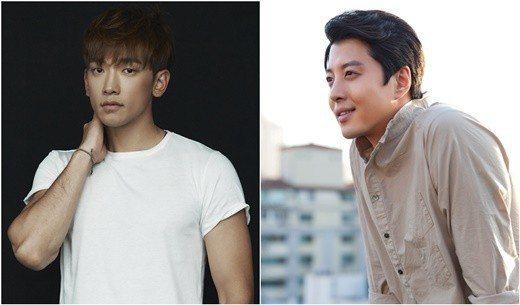Rain與李東健將演出「Sketch」。圖/Rain Company、FNC娛樂