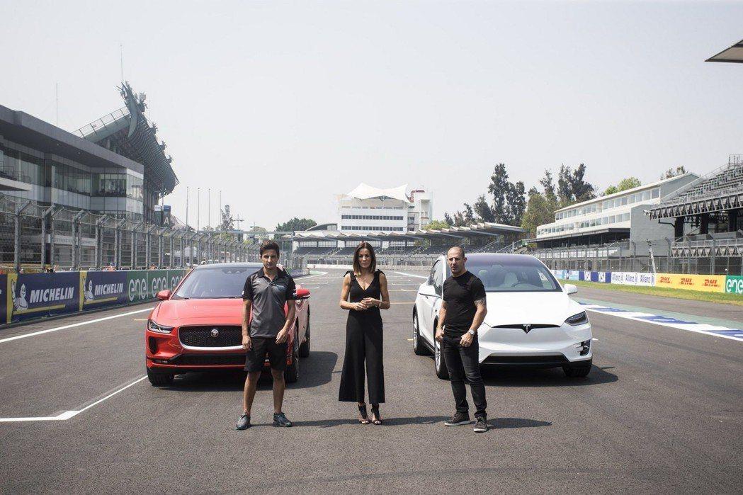 Jaguar I-Pace與Tesla Model X的直線加速對決,誰才是勝者...