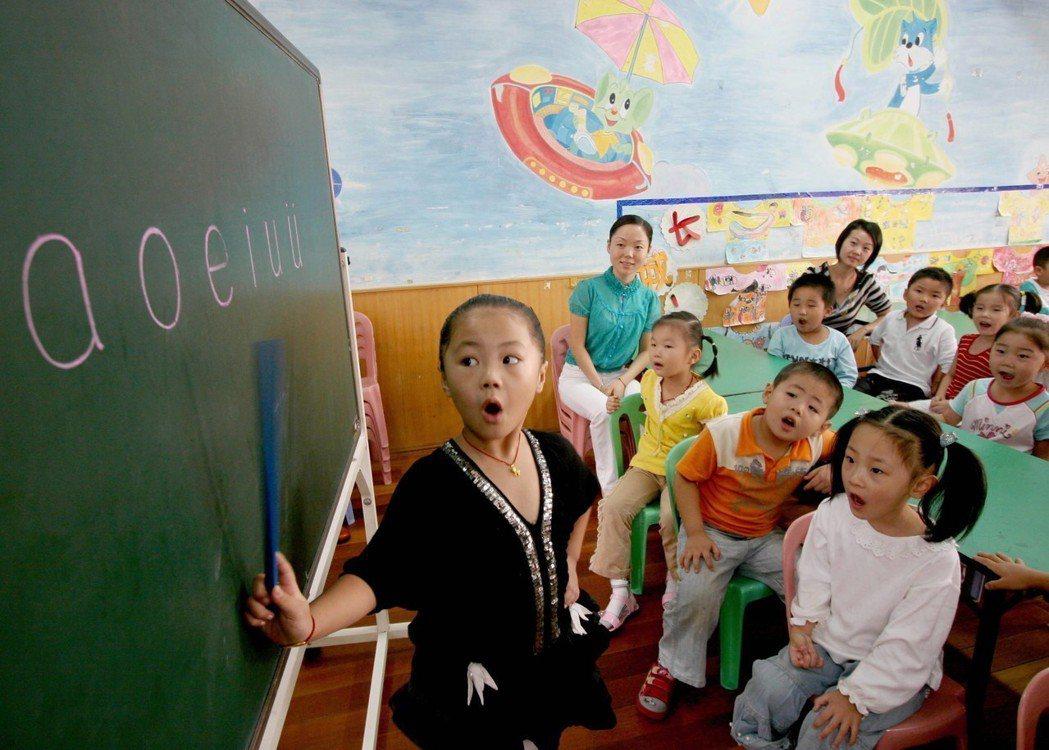中國通行的漢語拼音。 圖/新華社