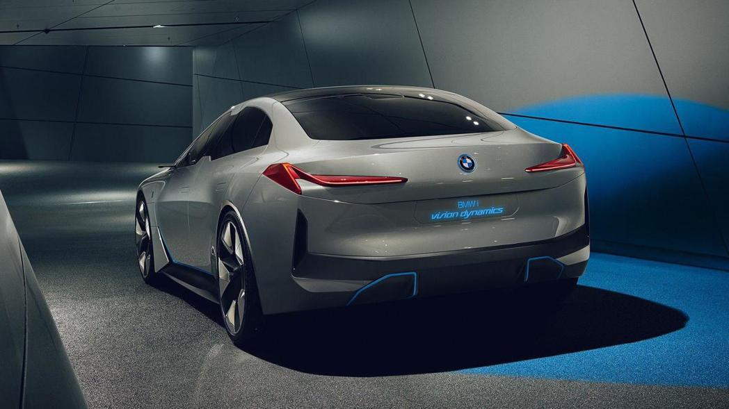 圖為BMW i Vision Dynamics Concept。 摘自BMW