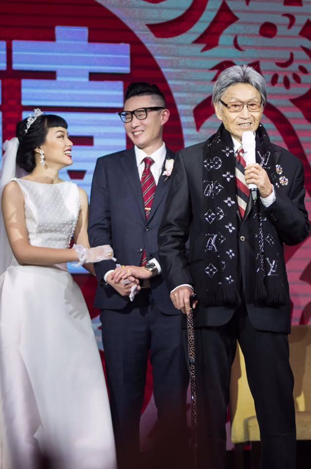 傅達仁(右)與癌症搏鬥,致力爭取安樂死權益。圖/摘自傅達仁臉書