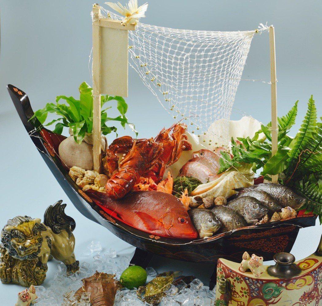 遠東Café自助餐廳從3月9日起推出春季限定「心鮮沖繩」海鮮節活動。圖/遠東飯店...