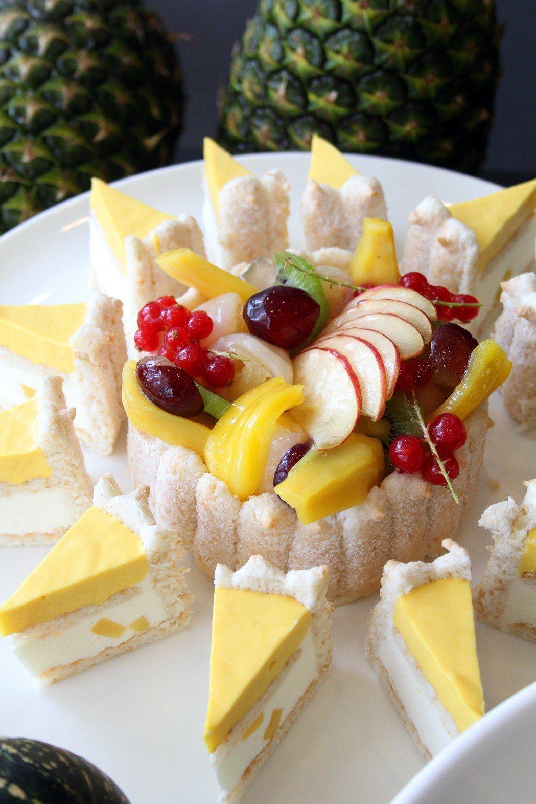 新竹老爺泰享受甜點。業者/提供
