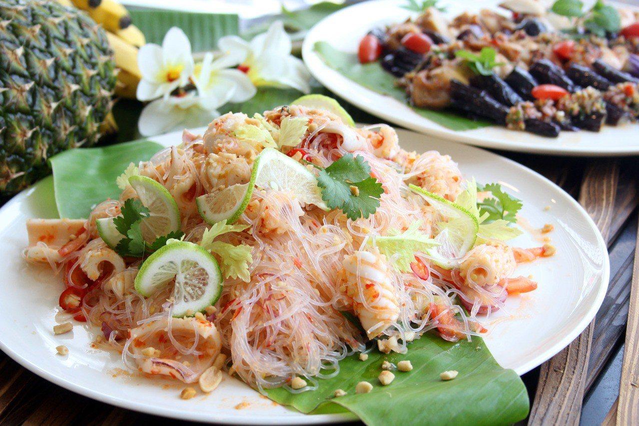 青木瓜沙拉。業者/提供