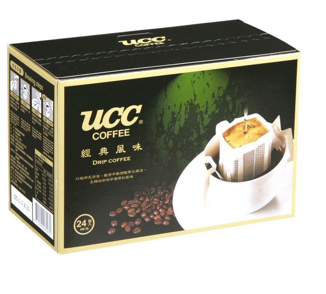 UCC濾掛式咖啡,原價308元,特價買1送1。圖/愛買提供