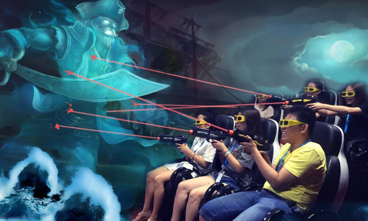 「最後的戰鬥」透過7D科技打敗邪惡巫師薩曼與魔兵大軍。圖/馬來西亞觀光局提供