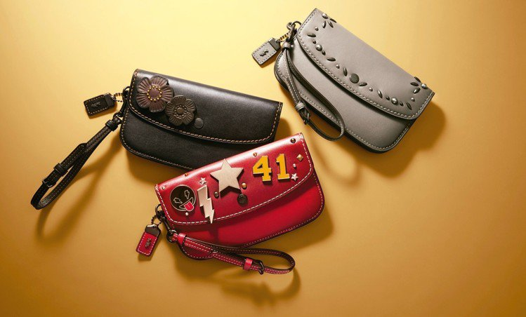 COACH在101台北專門店推出手袋訂製服務。圖/COACH提供