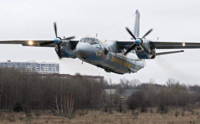 圖為一架安托諾夫An-26型運輸機。歐新社