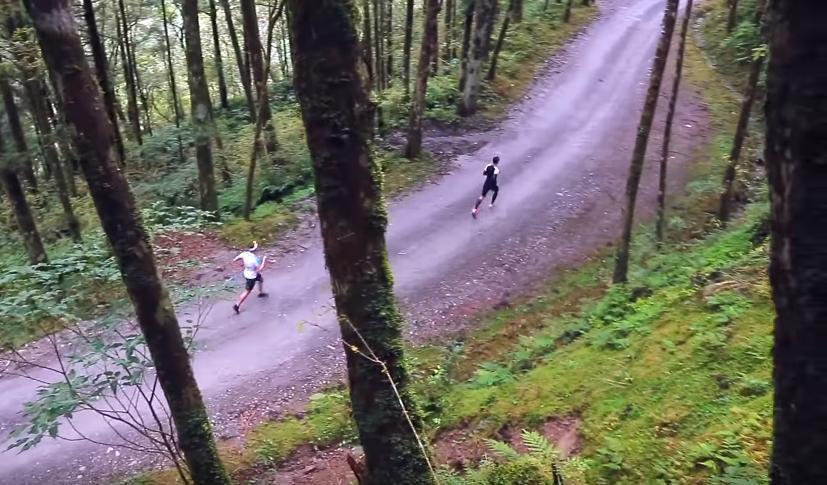 宜蘭縣棲蘭山100線林道,500名跑友將跑進林道中。 圖/中華民國超級馬拉松運動...