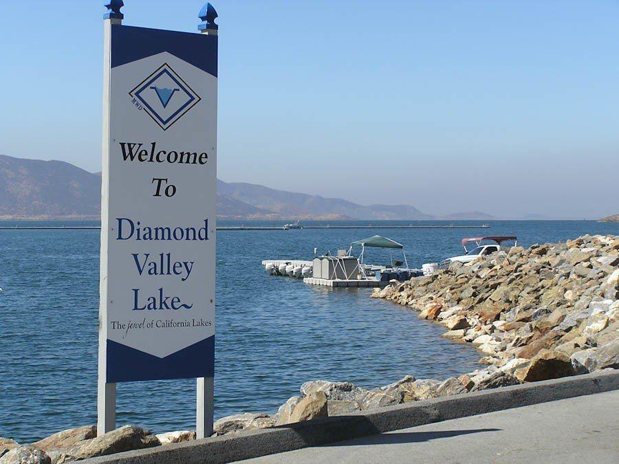 加州儲水主要來自北加州和內華達山脈積雪形成的天然水庫。 世界日報記者丁曙/攝影