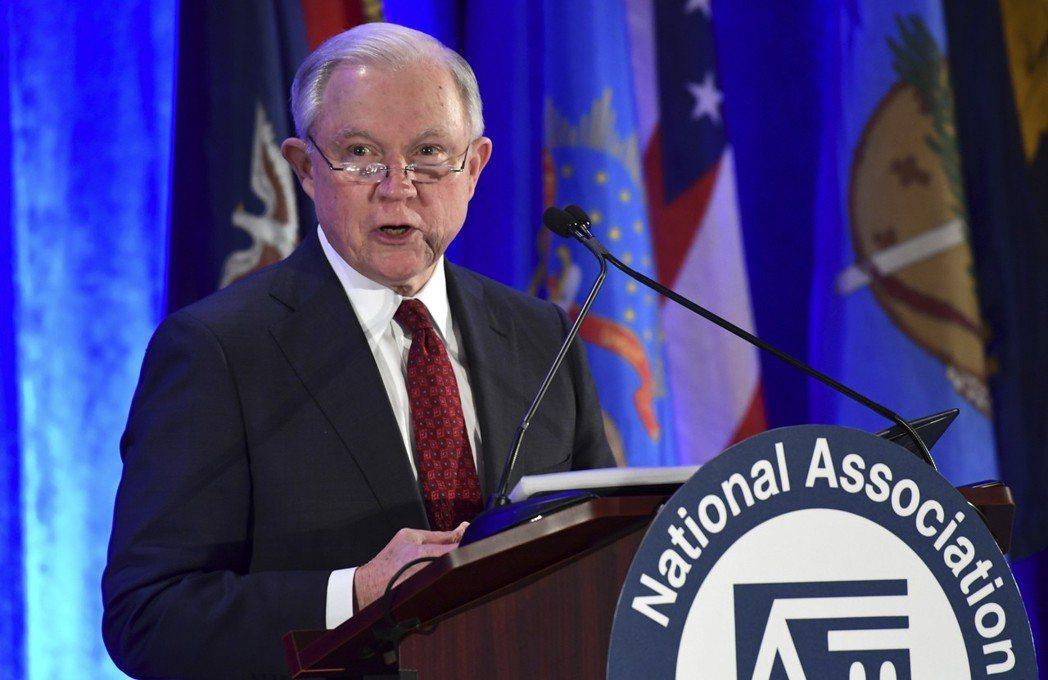 聯邦司法部長塞辛斯將來加州宣布控告加州「庇護法」。 美聯社