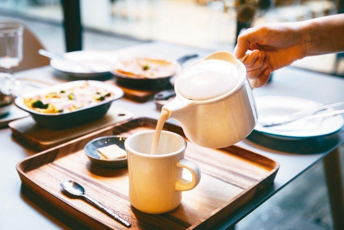 鍋煮奶茶是瑪黑邀請P&T針對喜愛奶茶的台灣消費者特別設計。 瑪黑/提供