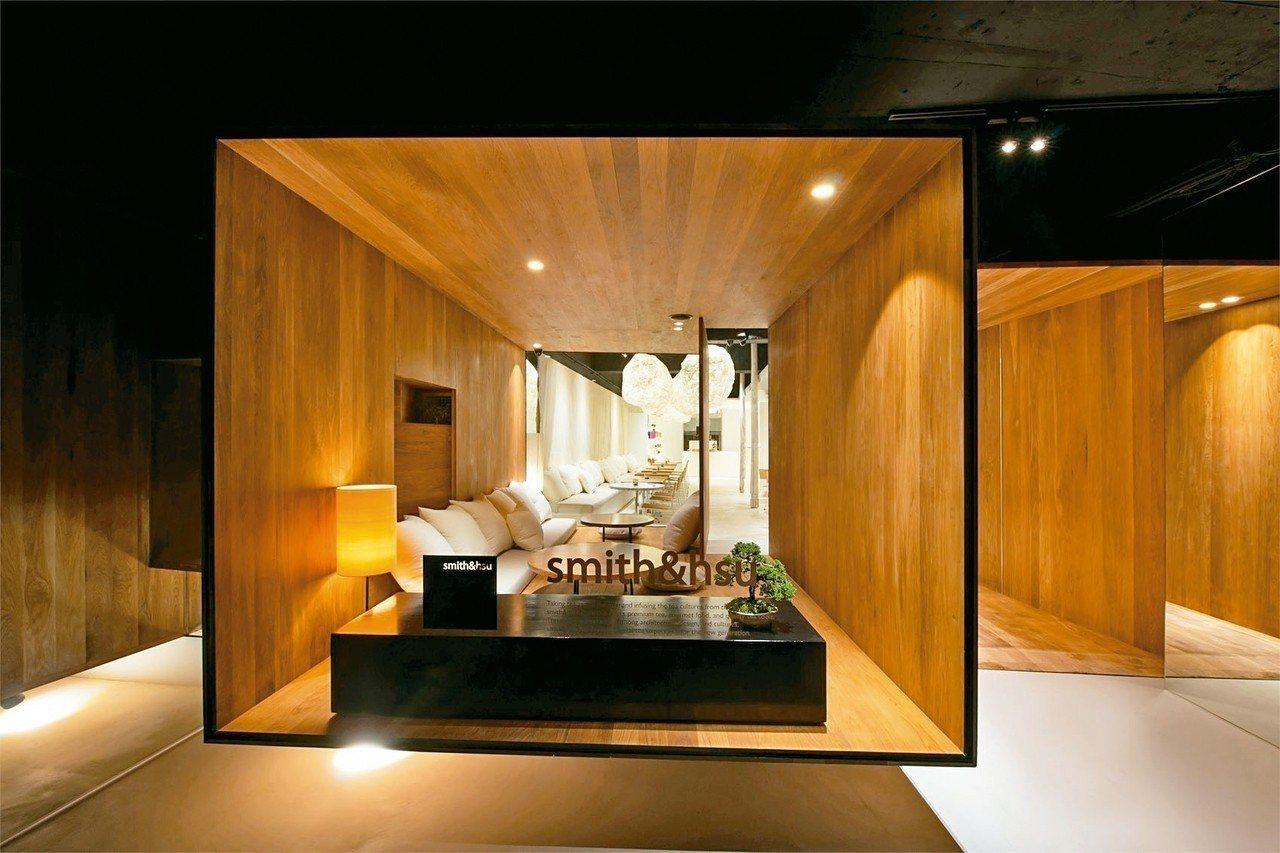 smith&hsu的「漂浮茶屋」設計極具特色。 smith&hsu/提供