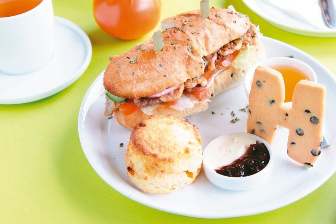 smith&hsu的春季餐點「秘製醬汁牛肉堡」套餐。 smith&hsu/提供