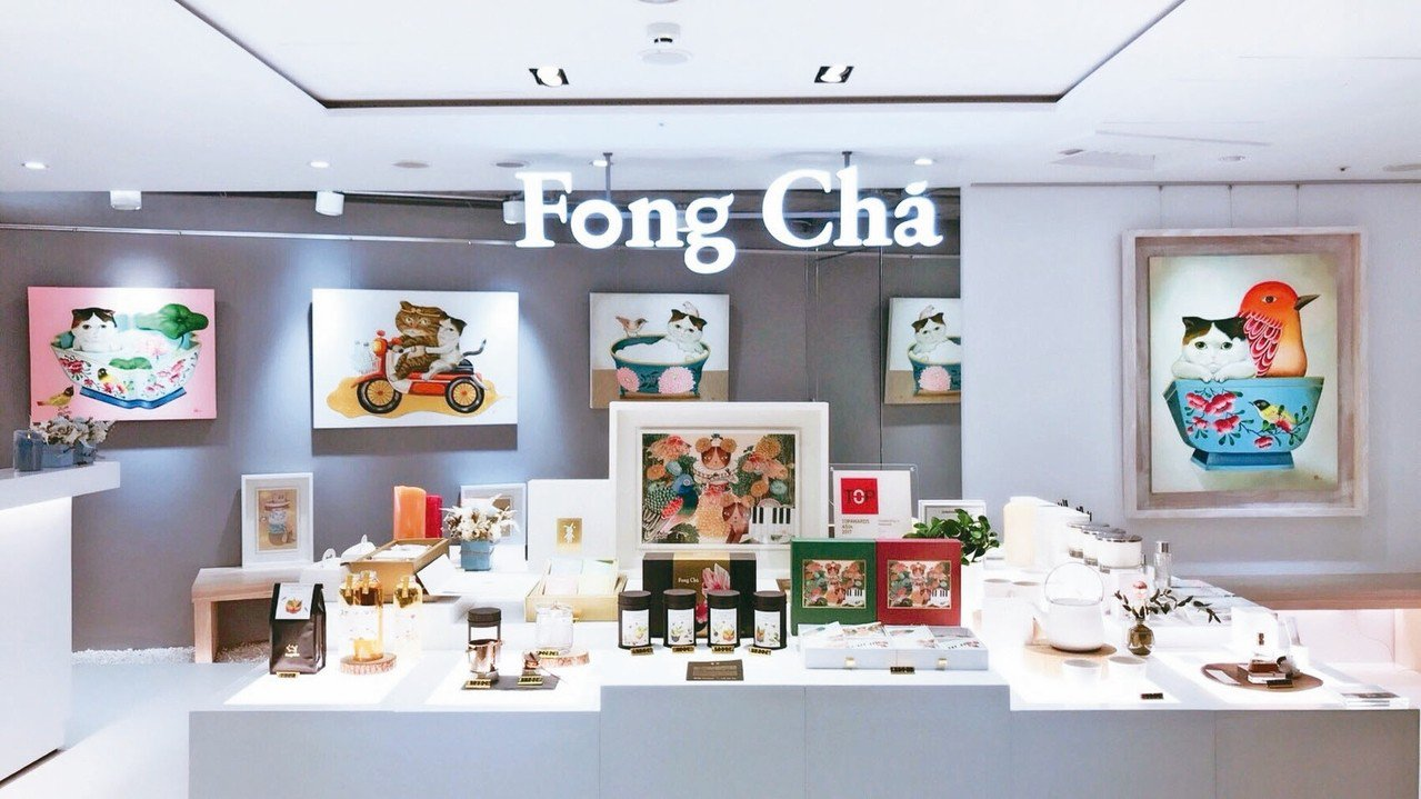 Fong Cha晶華形象概念店以微型藝廊方式呈現。 Fong Cha/提供