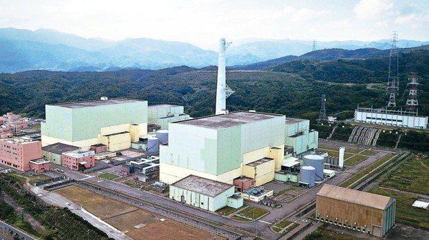 封存中的核四廠。 報系資料照