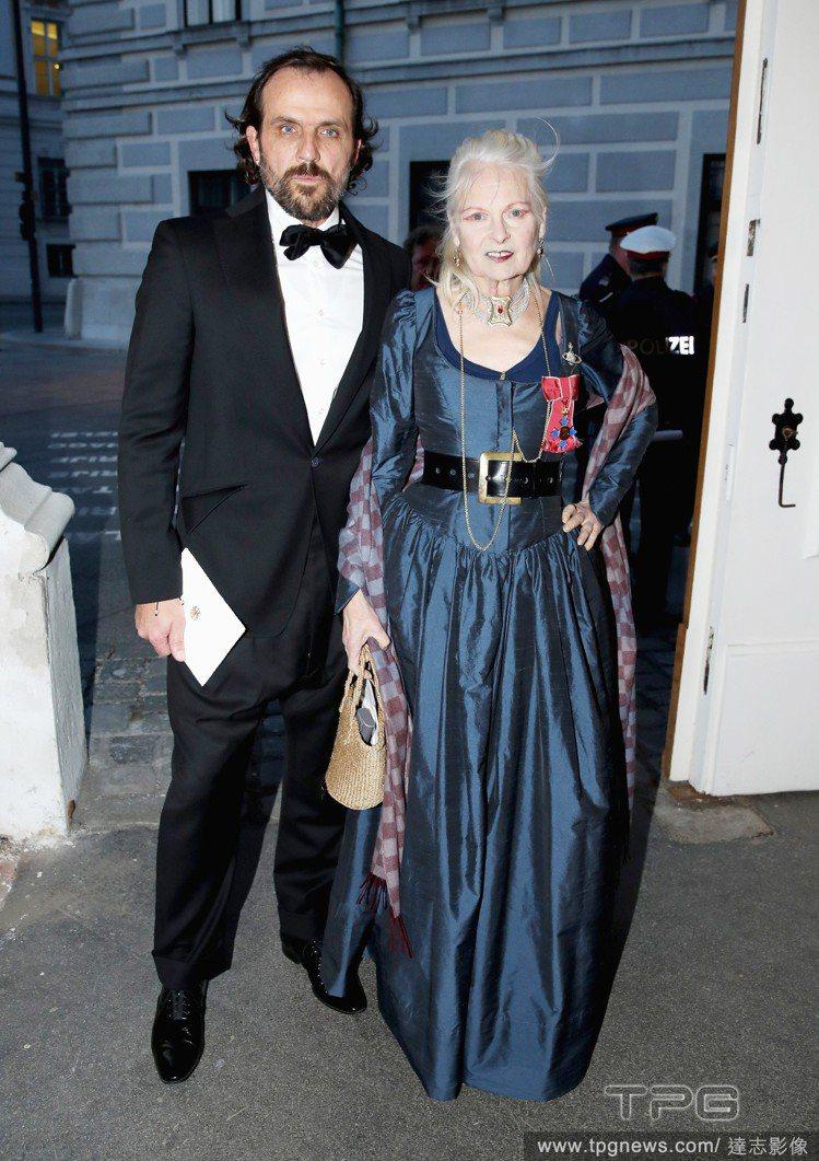 Andreas Kronthaler與Vivienne Westwood夫婦。圖...