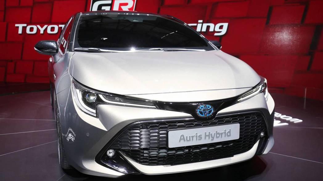 圖為全新Toyota Auris。 摘自Motor 1
