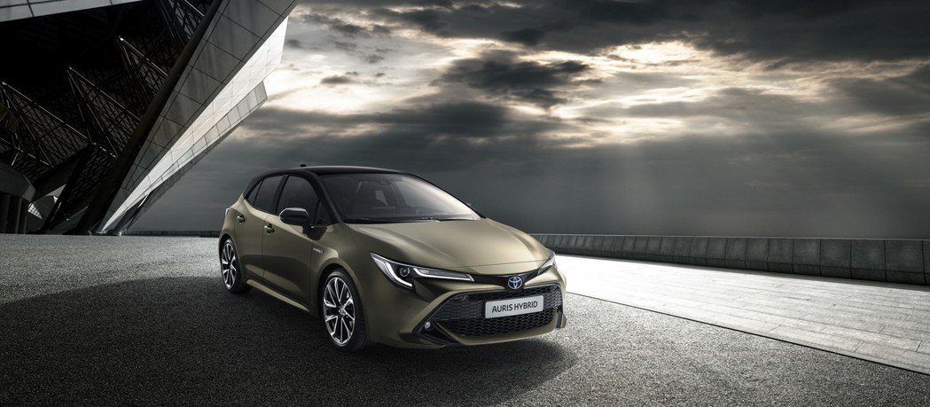 圖為全新Toyota Auris。 摘自Toyota