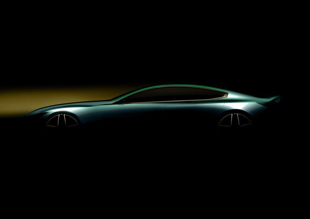 BMW在日內瓦車展前先釋出這張似有似無的沙龍照,對於全新8 Series真是充滿期待! 摘自BMW