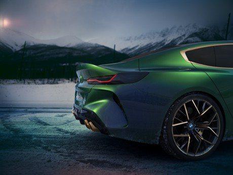 (影音圖多) 擋不住的奢華霸氣 BMW Concept M8 Gran Coupe帥翻日內瓦