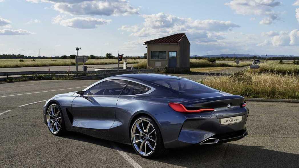 圖為BMW Concept 8 Series。 摘自BMW
