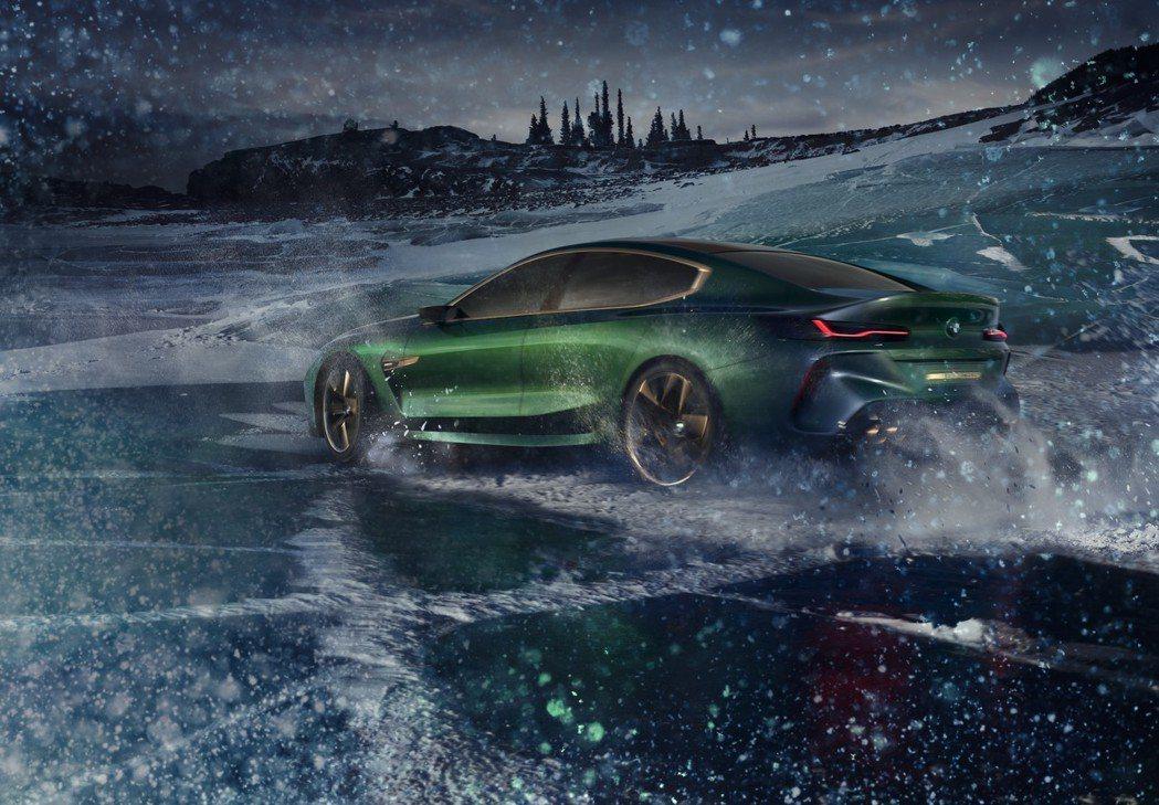 全新8 Series 雙門coupe有機會在年底發表。圖為BMW Concept M8 Gran Coupe。 摘自BMW