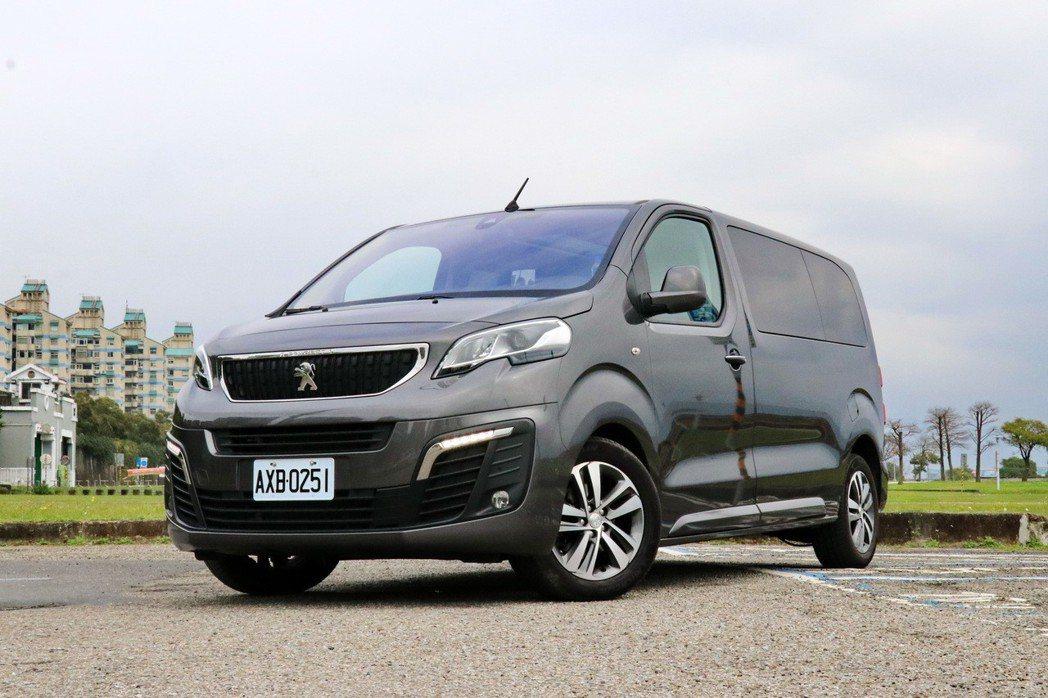 Peugeot Traveller。 記者陳威任/攝影
