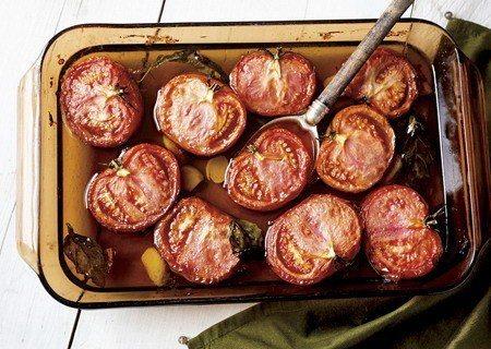 烤番茄讓非盛產季節的番茄有了不同的滋味 (照片/紐約時報提供)