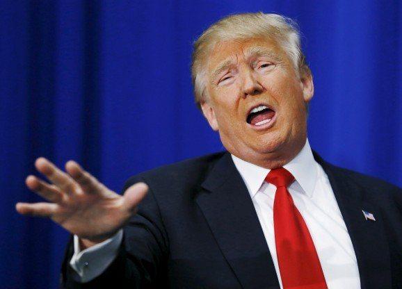 美國總統川普忍不住在推特上酸了奧斯卡頒獎的低收視。圖/路透資料照片