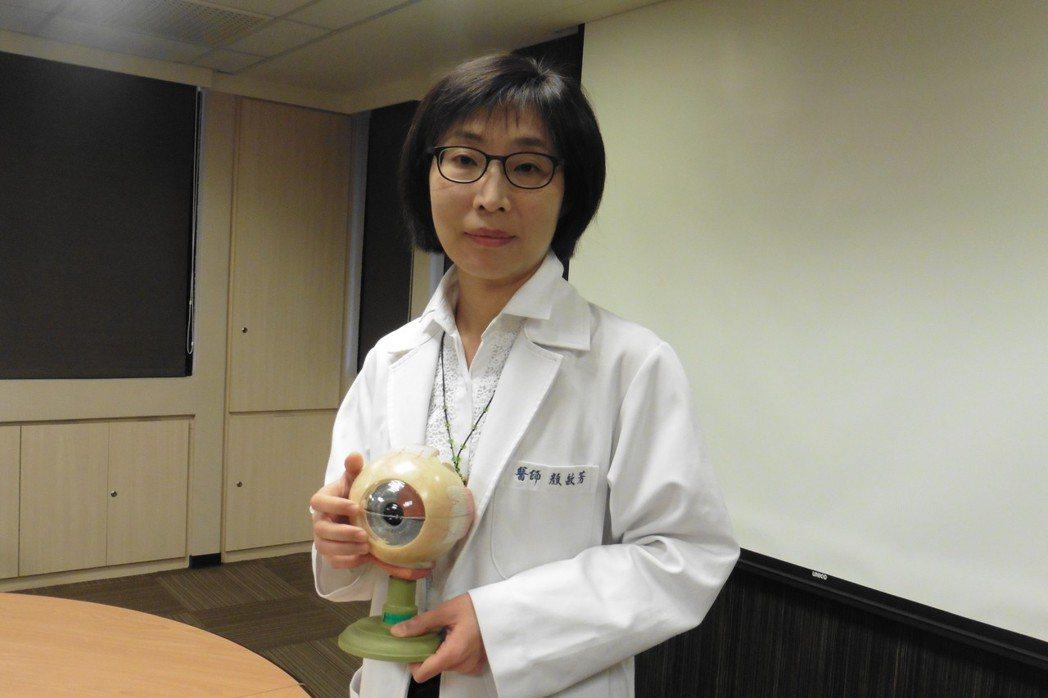 書田診所眼科主任醫師顏敏芳表示,民眾常見隱形眼鏡配戴時間過長,戴著入睡,游泳、泡...