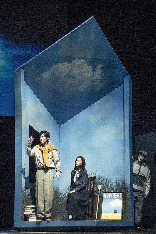 劉容嘉(中)因為音樂劇巡演從此愛上演戲。圖/時光電影院提供
