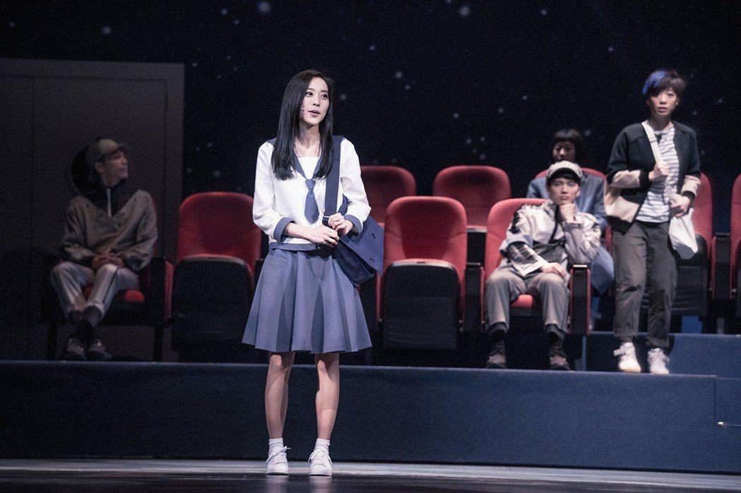 劉容嘉因為音樂劇巡演從此愛上演戲。圖/時光電影院提供