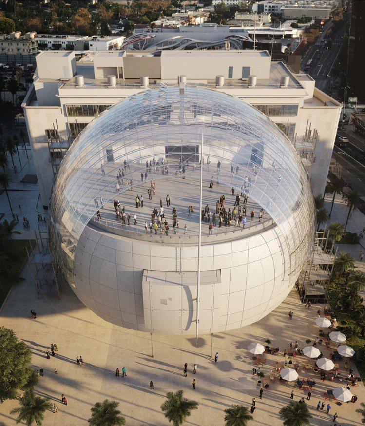 奧斯卡電影博物館將會成為世界首座致力於探究電影和電影製作藝術與科學的機構。圖/勞...