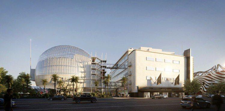 奧斯卡電影博物館將於2019年開幕。圖/勞力士提供