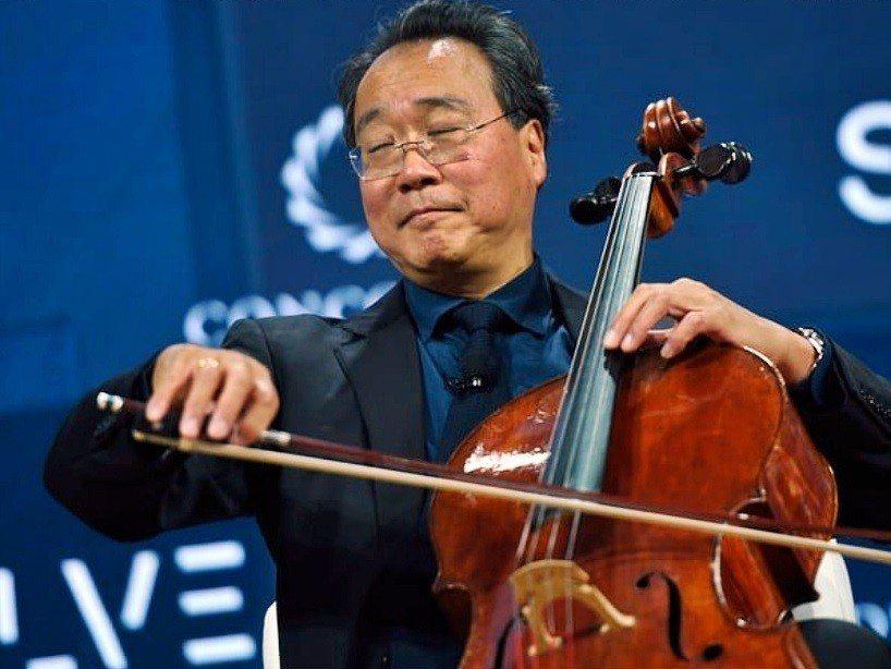 華裔大提琴家馬友友為加州虐兒案受害子女舉行特別音樂會。(翻攝自網路)