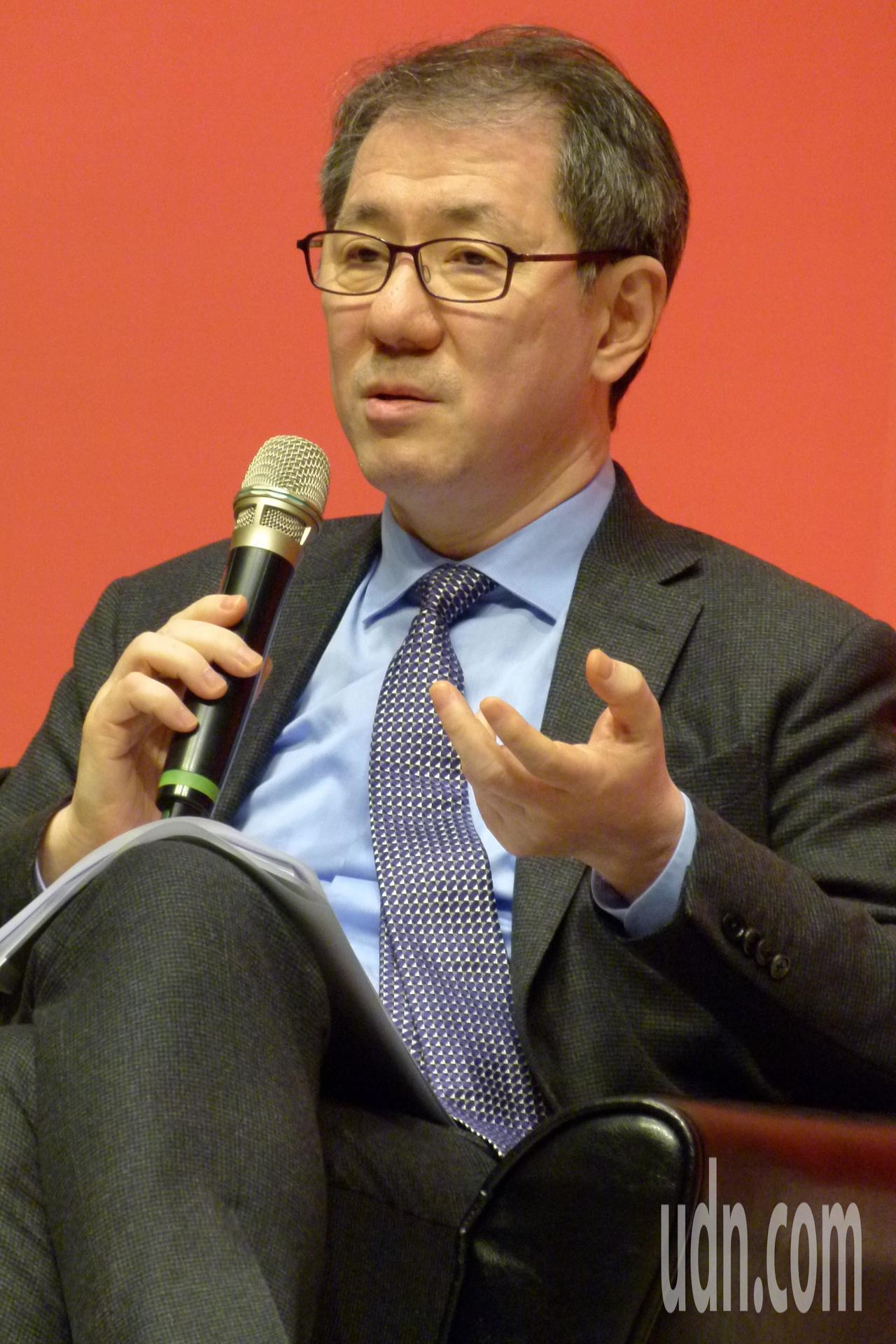 于品海認為臺灣不要有「紅色產業鍊」的恐懼。記者鄭國樑/攝影