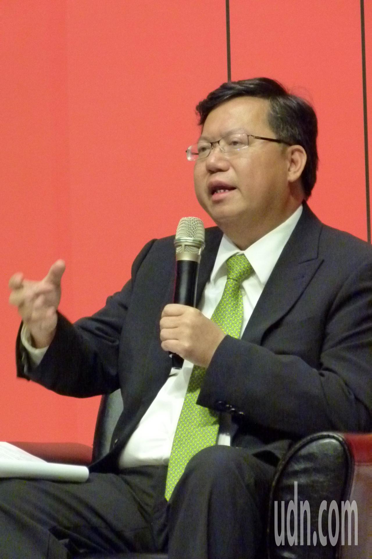 鄭文燦認為「惠臺31」不會對臺灣不會馬上有吸引力,但值得觀察分析。記者鄭國樑/攝...