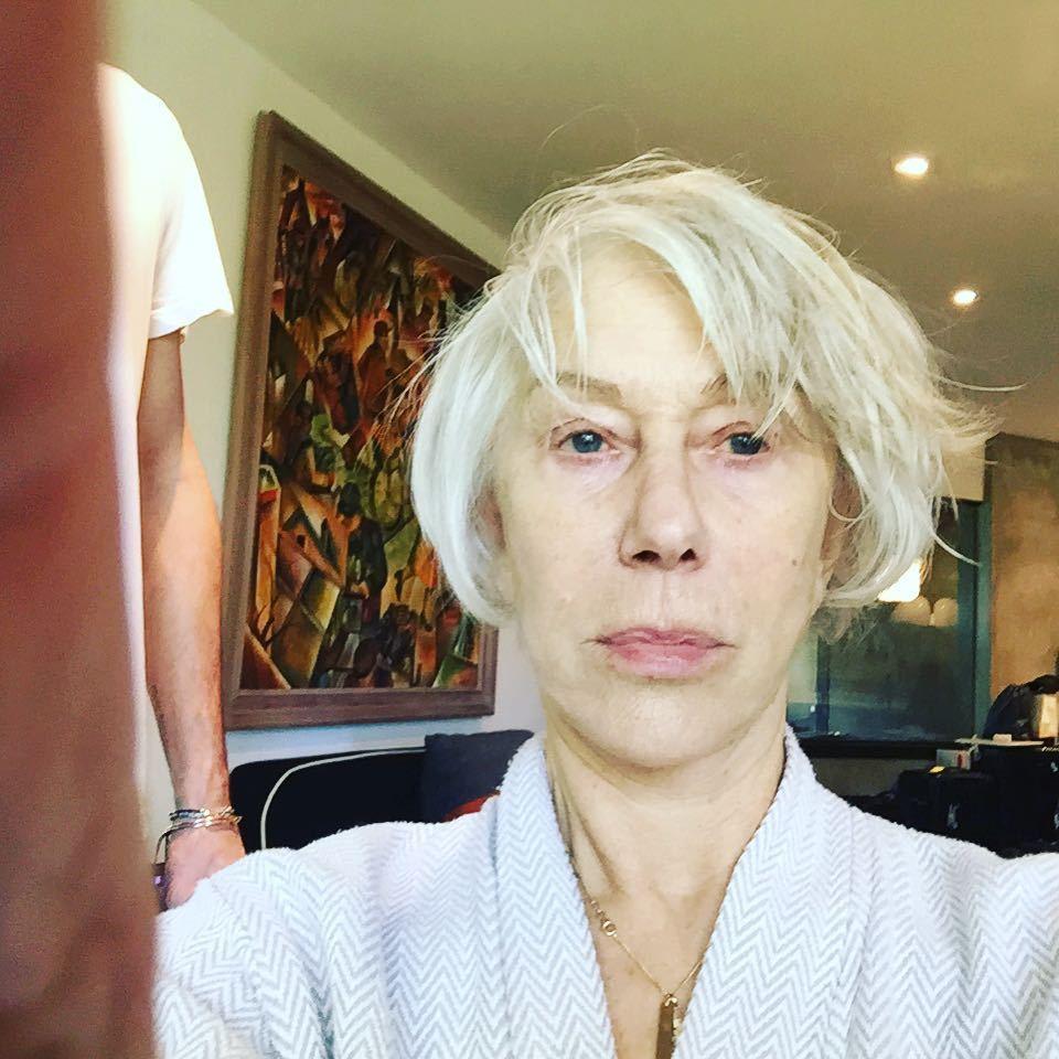 海倫米蘭素顏的模樣和上妝後差異不小。圖/摘自instagram